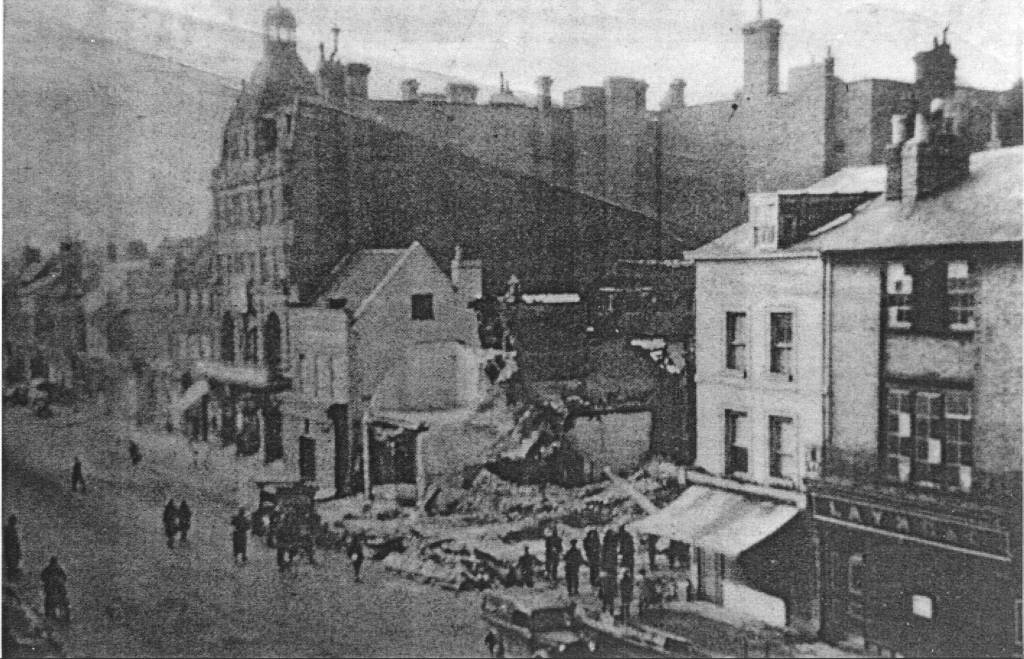 The Bombing of Newmarket High Street 1941