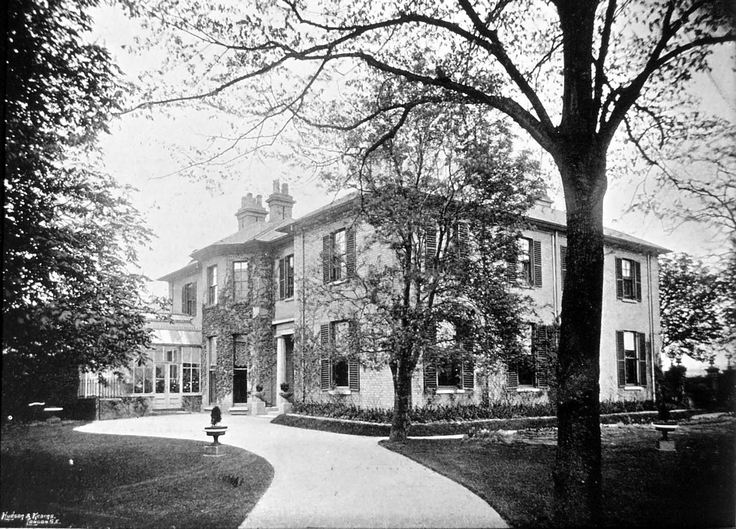 Warren House Old Station Road c.1895